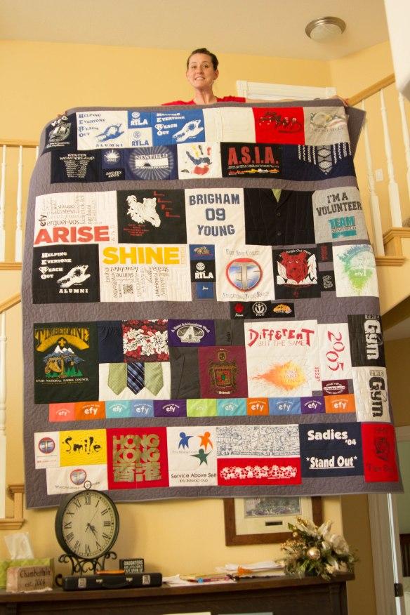 Jesse Tshirt Memory quilt-2