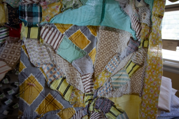 Great Grandma Rooks Quilt insides-3