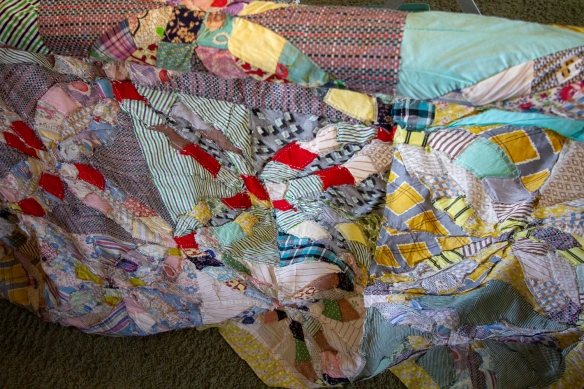 Great Grandma Rooks Quilt insides-7